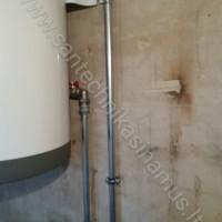 Kombinuoto vandens šildytuvo pajungimas Garliavoje